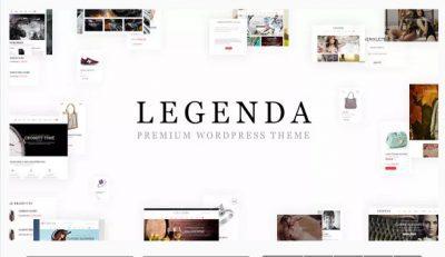 Адаптивная многоцелевая тема — Legenda