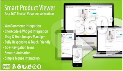 Smart Product Viewer – 360º Анимационный плагин
