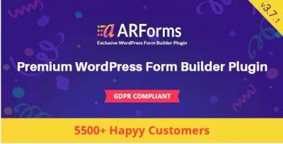 ARForms – Плагин Конструктора форм