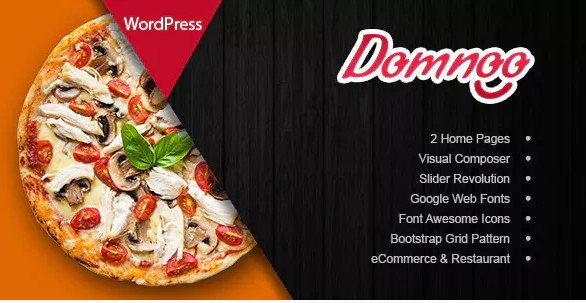 Domnoo – Pizza & Restaurant Тема WordPress
