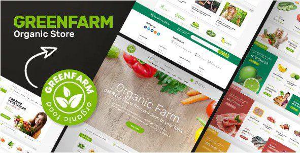 Greenfarm – Organic Theme for WooCommerce WordPress