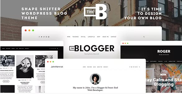 TheBlogger – Тема Блога WordPress для блогеров