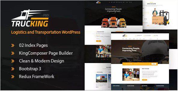 Trucking – Logistics and Transportation WordPress Theme