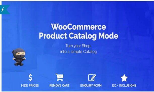 WooCommerce Product Catalog Mode & Enquiry Form – Режим Каталога продукции и форма запроса