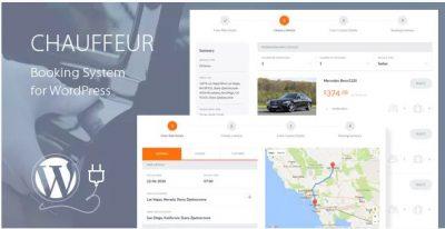 Chauffeur Booking System for WordPress — система брони автомобилей