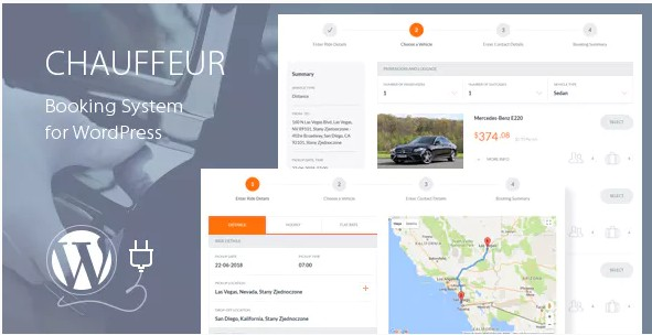 Chauffeur Booking System for WordPress – Система бронирования Водителей для WordPress