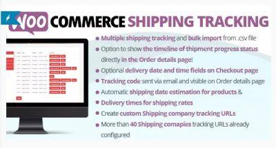 WooCommerce Shipping Tracking — Отслеживание доставки