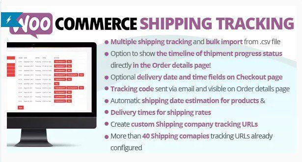WooCommerce Shipping Tracking - Отслеживание доставки