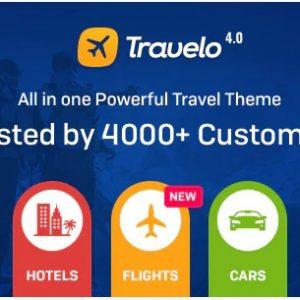 Travelo - Путешествия / Тур / Прокат автомобилей / Круиз Бронирование Тема WordPress