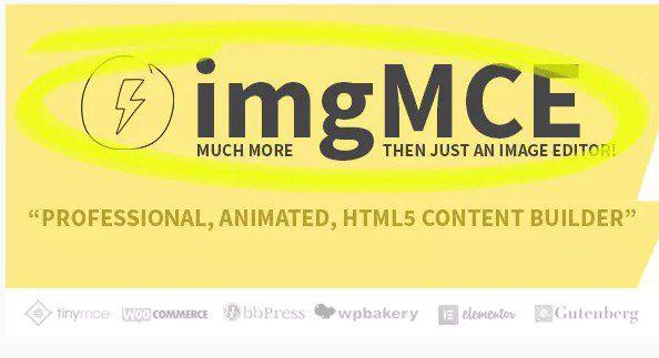 imgMCE – Профессиональный, Анимированный Редактор изображений & построитель контента HTML5
