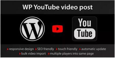 YouTube WordPress plugin – video import