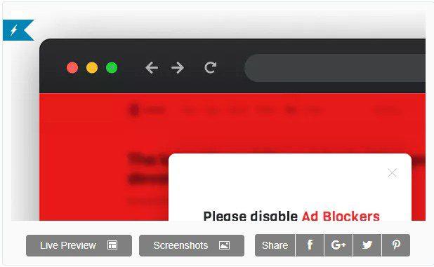 DeBlocker – Антиблокировщик  для WordPress