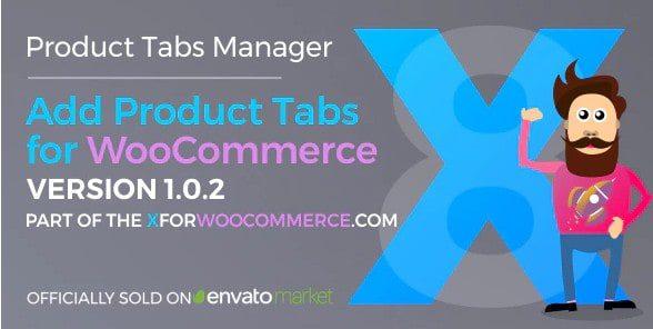 Add Product Tabs for WooCommerce - Добавить вкладки продуктов для WooCommerce