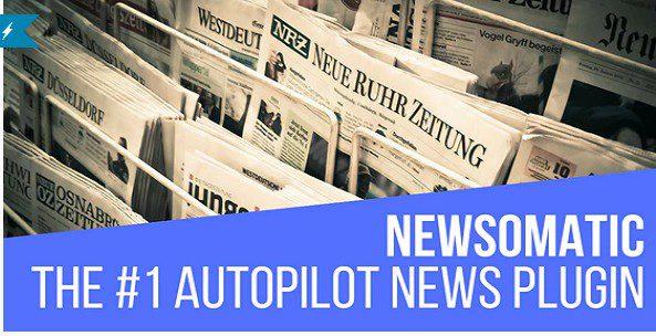 Newsomatic - Automatic News Post Generator - плагин Автоматический постер новостей