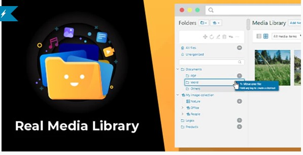 WordPress Real Media Library - Менеджер папок и файлов медиа библиотеки wordpress
