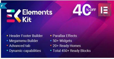 Elements Kit — Все в одном Аддоны для Elementor Page Builder