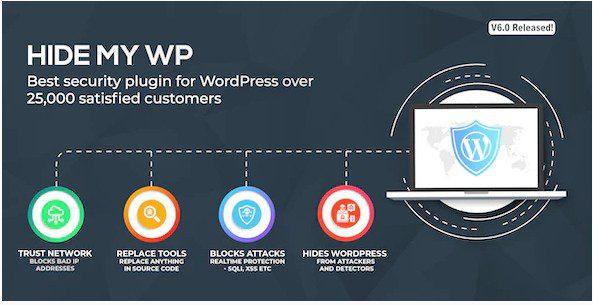 Hide My WP  - Плагин защиты Скрыть Мой Wordpress