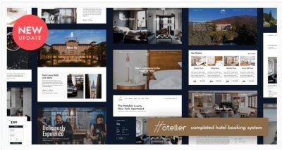 Hoteller – Hotel Booking WordPress