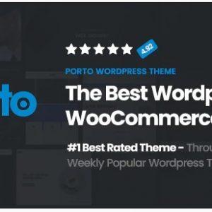 Porto v5.4.6 - отзывчивая тема WordPress + eCommerce