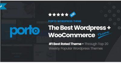 Porto – отзывчивая тема WordPress + eCommerce