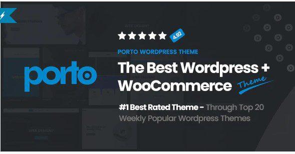 Porto v6.0.6 - отзывчивая тема WordPress + eCommerce