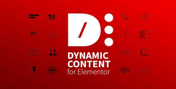Dynamic Content for Elementor – динамический контент аддон для Элементора