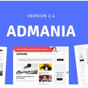 Admania - Adsense WordPress Theme