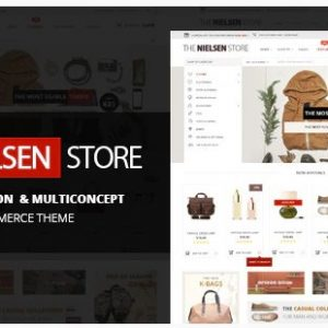 Nielsen - E-commerce WordPress Theme