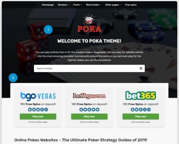 РОKА THEME v3 – Шаблон для партнёрского игорного бизнеса.