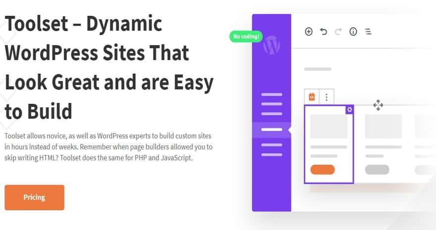 Toolset Types – Набор инструментов – динамические сайты WordPress