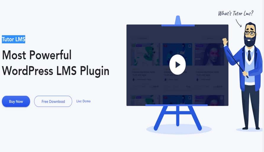 Tutor LMS Pro – Самый мощный WordPress LMS Плагин