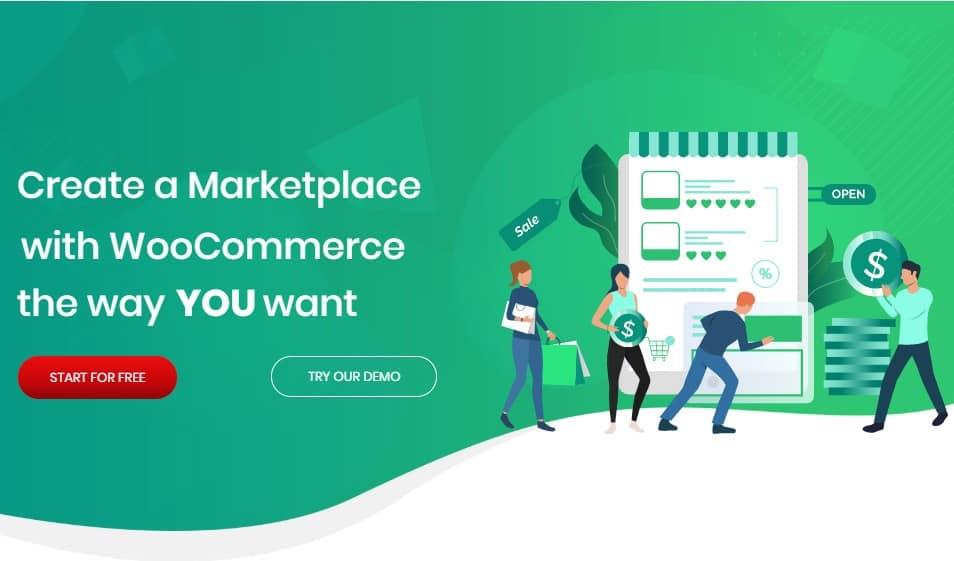 Пакет МультиВендор для wordpress – WooCommerce Multivendor Marketplace