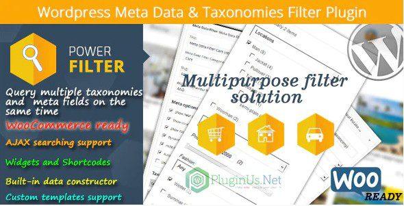 MDTF - Фильтр метаданных и таксономий Wordpress
