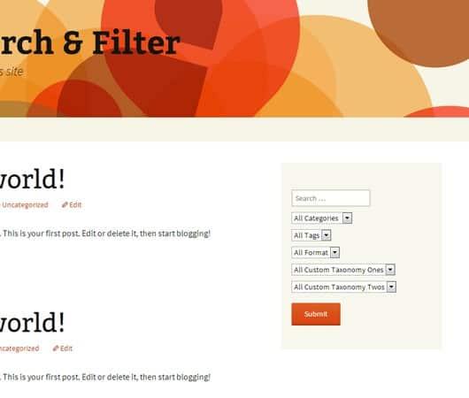Search & Filter - Поиск и Фильтрация