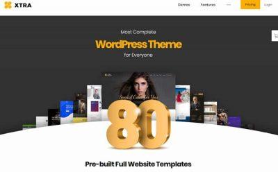 XTRA – многофункциональная тема WordPress