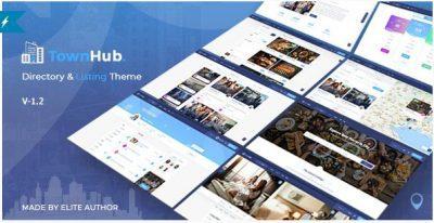 TownHub – Directory & Listing WordPress Theme