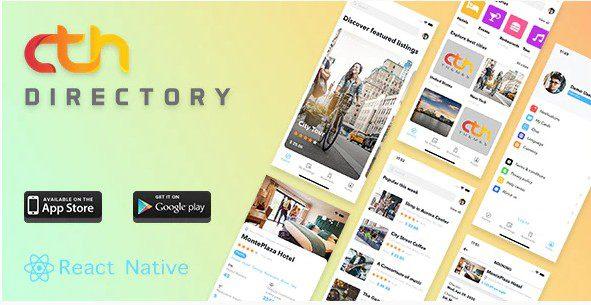 CTH Directory - React Native мобильное приложение