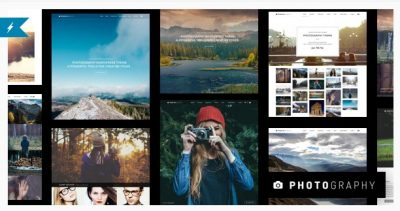Photography WordPress – Тема Портфолио
