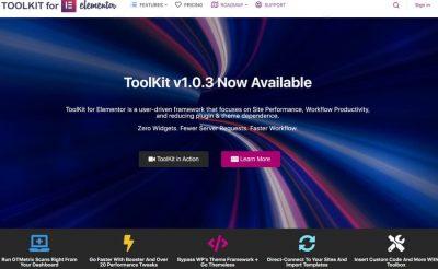 ToolKit For Elementor – Инструментарий для Элементора