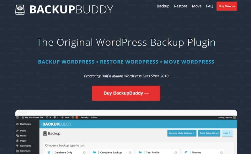 BackupBuddy – WordPress  Плагин для Backup