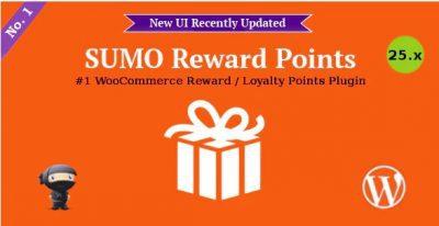 SUMO Reward Points – Система вознаграждений WooCommerce