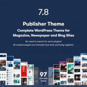 Publisher Newspaper Magazine AMP - Многопрофильная тема