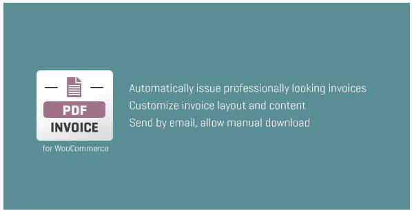 WooCommerce PDF Invoice – плагин создания счетов в PDF и рассылки их заказчику