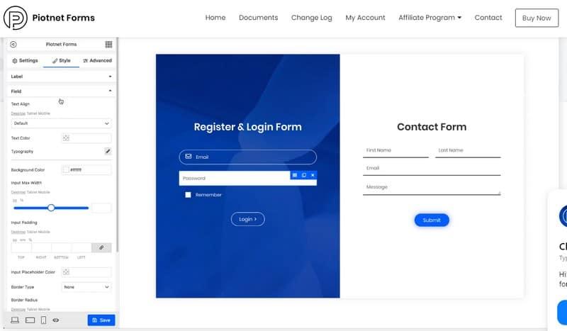 Piotnet Forms Pro – Конструктор форм WordPress с широкими возможностями настройки