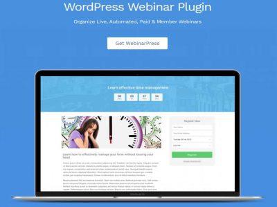 WebinarPress Pro – плагин Вебинаров для WordPress