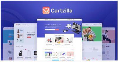 Cartzilla – Digital Marketplace & Grocery Store WordPress Theme