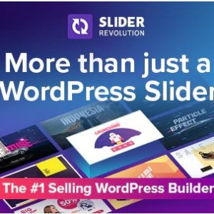 Slider Revolution v 6.3.2 - Адаптивный Слайдер для Wordpress + Slaido - Template Pack (пакет шаблонов)