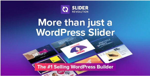 Slider Revolution v 6.3.1 – Адаптивный Слайдер для WordPress + Slaido – Template Pack (пакет шаблонов)