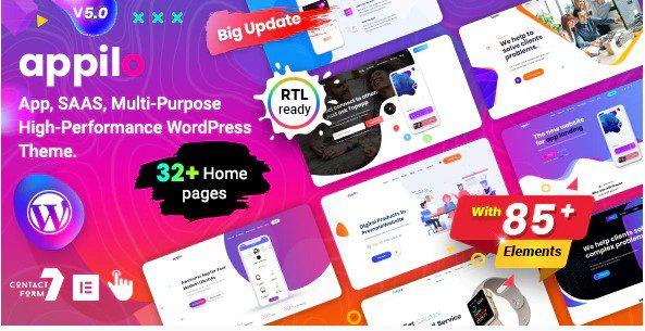Appilo – App Landing Page