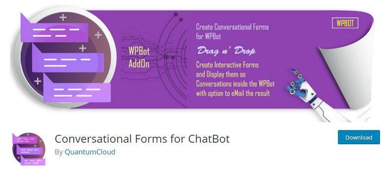 ChatBot for WordPress PRO - ЧатБот для WordPress + Conversational Forms for ChatBot (конструктор форм для чата)